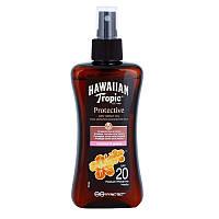 Водостойкое сухое масло для загара Hawaiian Tropic Protective SPF 20 200 мл