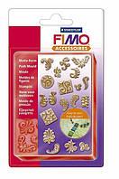 """Молд силиконовый FIMO """"Орнамент"""" 19 форм 2 x 2 см"""