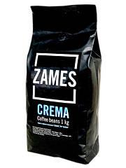 Кофе в зёрнах ZAMES Coffee CREMA 1кг 1/10