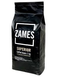 Кофе в зёрнах ZAMES Coffee SUPERIOR 100% Arabic, 1кг 1/10