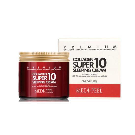 Ночной крем с коллагеном Medi-Peel Collagen Super 10 Sleeping Cream 70 мл Корея