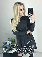 """Ангоровое платье-трапеция """"Nikole""""  Норма #A/S"""