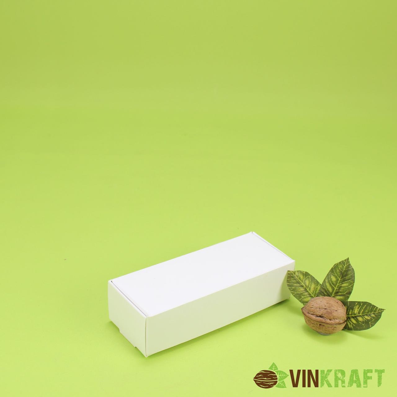 Коробка 140*57*38 для макарун (5 шт), біла