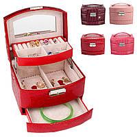 Ювелирные изделия из кожи Коробка Хранение Органайзер Ожерелье Браслет Серьга Чехол -1TopShop