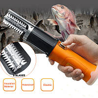 ZANLURE 12V 2000mAh Электрический скейлер для удаления рыбьей кожи Scaler Scaleper Knife-GD Рыбалка Инструмент-1TopShop