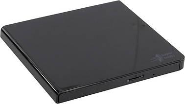 Внешний дисковод для ноутбука LG GP57EB40, Black, DVD+/-RW, USB 2.0, переносной оптический привод, фото 2