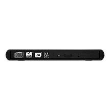 Внешний дисковод для ноутбука Verbatim SlimLine, Black, DVD-RW, USB 2.0, переносной оптический привод, фото 2