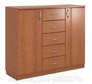 Комод-2х5 МДФ