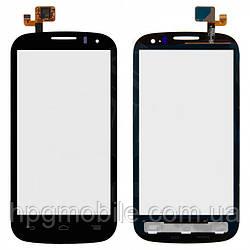 Touchscreen (сенсорный экран) для Alcatel One Touch 5036 POP C5 Dual SIM, черный, оригинал