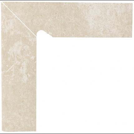 Плинтус керамический Paradyz Cotto Crema Cokol Dwuelementowy Schodowy Lewy 8.1 x 30, фото 2