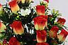 Роза 36 голов с добавкой мелкого цветка высота 75 см, фото 5