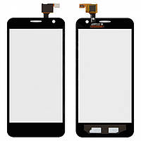 Touchscreen (сенсорный экран) для Alcatel One Touch 6012 Idol Mini Sate, черный, оригинал