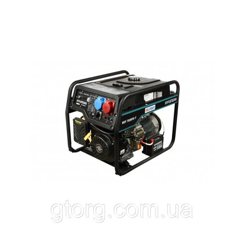 Генератор Hyundai HHY 7020FE-T функция (VTS)