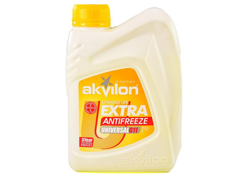 Антифриз Akvilon Extra G11 жовтий 1 л