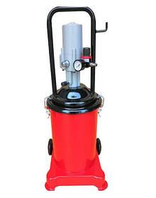 Нагнітач консистентного мастила з пневмоприводом (12р.) G. I. KRAFT AGL-12