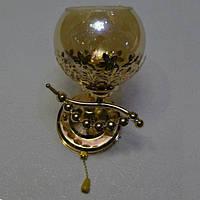 Бра, современный, 1 лампа, золото
