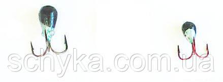 Мормышка чертик на японском крючке.
