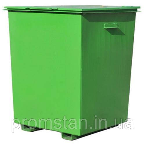 Изготовление металлических контейнеров для мусора, мусорных баков с крышкой
