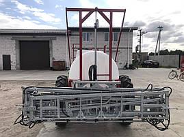Обпріскувач обприскувач причіпний 2000 л штанга Польща 18 м R32 (ВИРОБНИК), фото 3