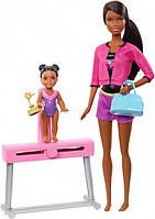 Кукла Барби Тренер по спортивной гимнастике Barbie Gymnastics Coach Doll & Playset Mattel (FXP40)