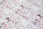 Новогодняя бумага для упаковки  в листах 85х60 мм, фото 2