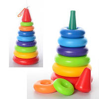 Пирамидка ТехноК Выдувная 0984 игрушка для малышей