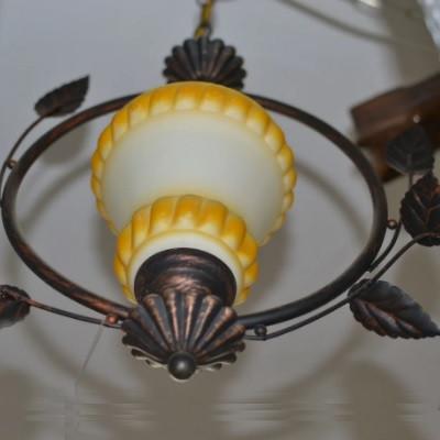 Люстра, 1 лампа, подвесная