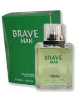 Мужская туалетная вода «Brave man» 100 ml (без слюды)