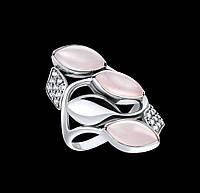 Серебряное кольцо Гранат