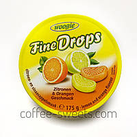 Леденцы Woogie Fine Drops со вкусом апельсина и лимона 200g