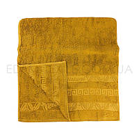 Мягкое полотенце из бамбука Sikel Bambo Naturel, Желтый, 50х90