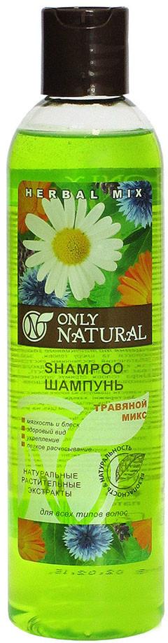 Шампунь для волос Only Natural Травяной микс 400 мл