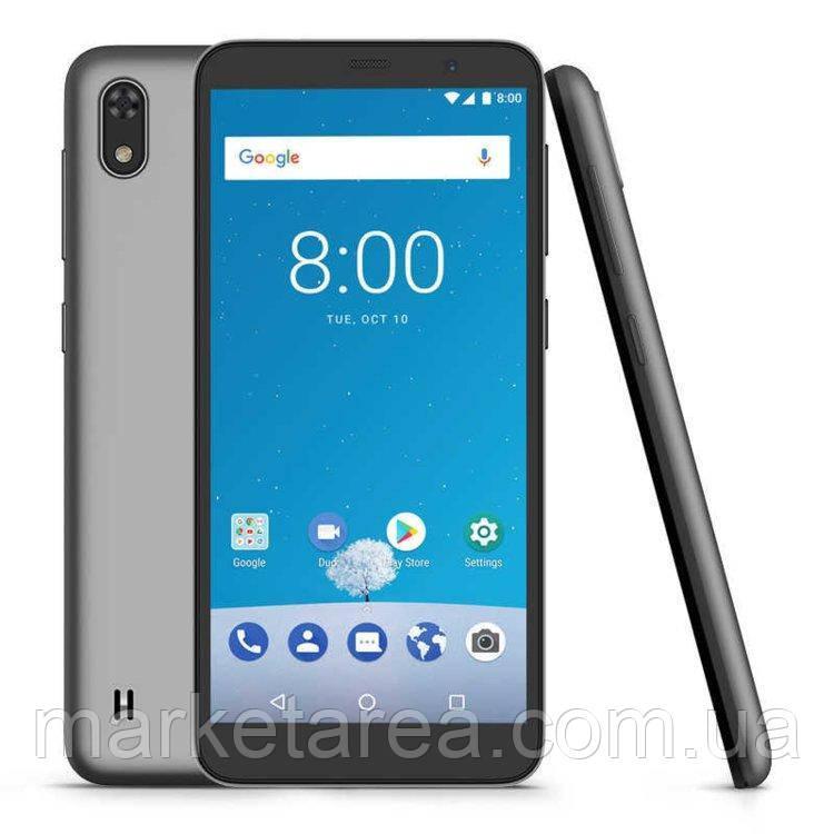 Смартфон серый, безрамочный ZTE Blade A530 gray 2/16 гб