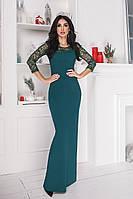 Платье женское нарядное длинное в пол.Размеры:42-46.+Цвета