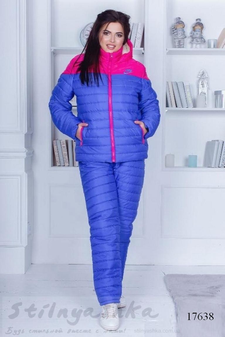 большой лыжный костюм