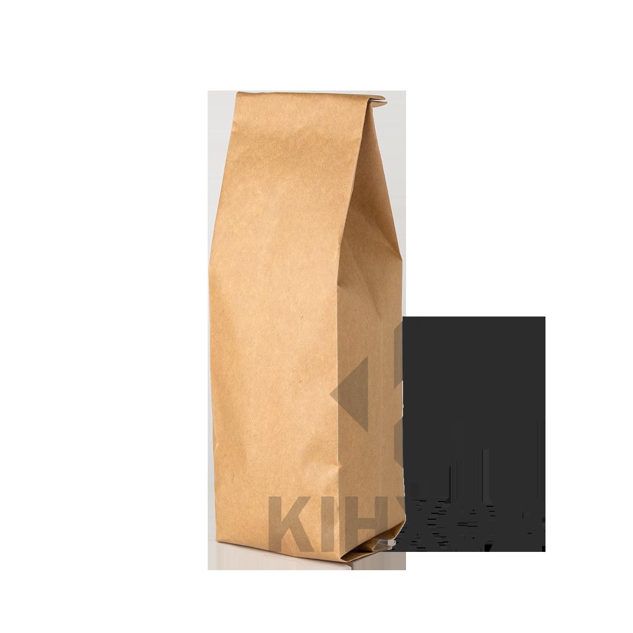 Пакет с центральным швом 90*320 ф (30+30) крафт