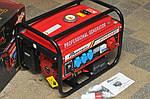Генератор бензиновый 3-х фазный  POWERTECH PT6500WE ( ЕлектроСтартер) 4.8 Кв, фото 3