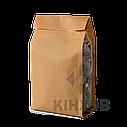 Пакет Стабіл з крафт-паперу 100х240 мм прозорі фальци, фото 2
