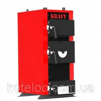 Твердотопливный котел Kraft серии Е New! 24 кВт