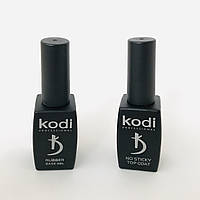 База Rubber Base Gel + Топ No sticky Top Coat 12ml