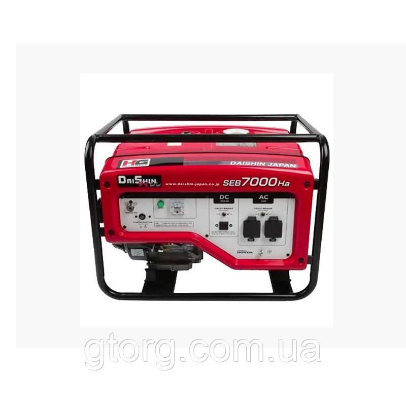 Бензиновый генератор 5 кВт