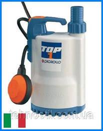 Дренажный насос Pedrollo TOP 1 (9.6 м³, 7 м, 0.25 кВт)