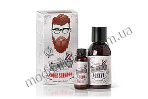 Камуфлирующий шампунь для головы, бороды и усов Color Shampoo BEARDBURYS, 3N темно-коричневый