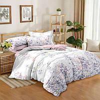Комплект постельного белья евро сатин, 100% хлопок. (арт.10607)