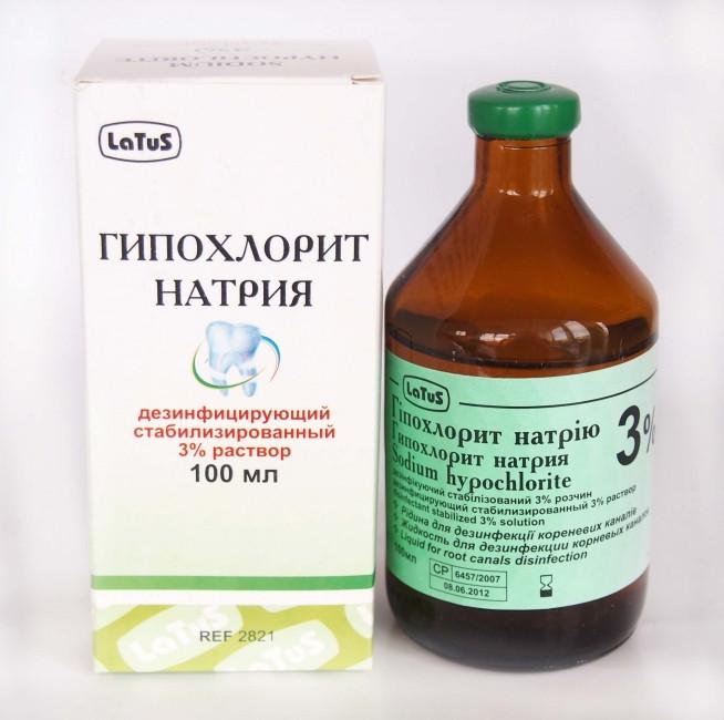 Гипохлорид натрия 3% Latus
