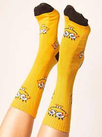 Шкарпетки з принтами і написами