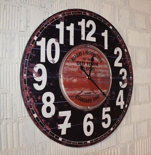 Настінні годинники інтер'єрні (фото)