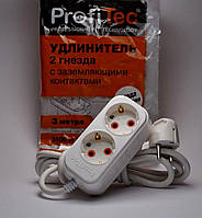 Profitec удлинитель 2 гн. с заземлением 3м