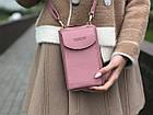Сумка клатч на ремешке с карманом для телефона, фото 5