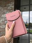 Сумка клатч на ремешке с карманом для телефона, фото 2